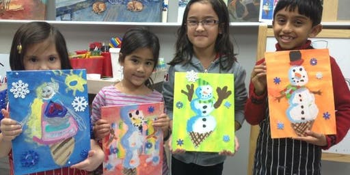 Winter Art Camp at Winged Canvas Art Hub