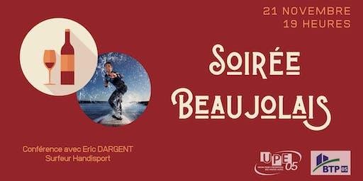 Soirée privée Beaujolais Nouveau avec Eric DARGENT