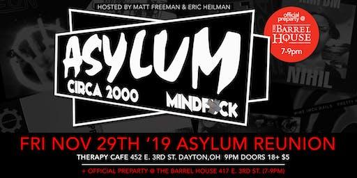 2019 Asylum Reunion 11.29.19