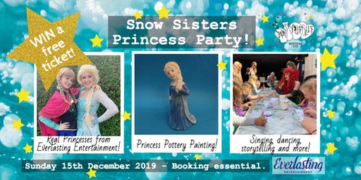 Snow Sisters Princess Party!