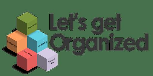 CB Bain | Let's Get Organized (3 CE-WA) | Lynnwood | November 13th 2019