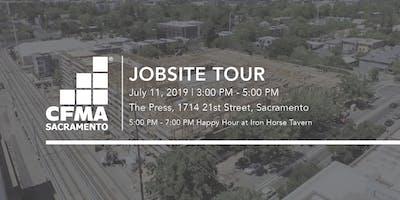 CFMA Jobsite Tour + New Member Mixer - The Press (Brown Construction)
