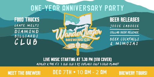Wanderlinger's 1-Year Anniversary Party