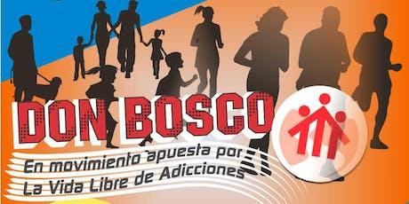 1ra Maratón Don Bosco en movimiento apuesta por la vida libre de adicciones entradas