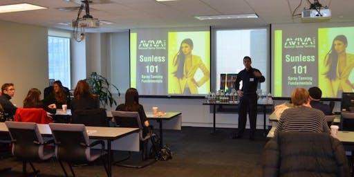 Boston Spray Tan Certification Training Class - Hands-On Massachusetts- January 19th