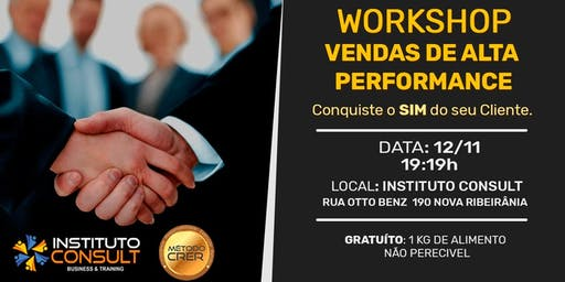 WORKSHOP - COMO CONQUISTAR O SIM DO SEU CLIENTE!