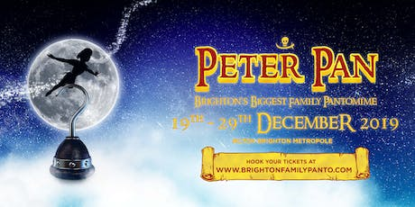 PETER PAN: 19/12/19 - 19:00 Performance  tickets
