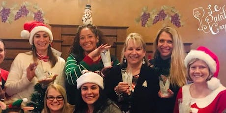 New Class! Join us for our Wine Glass Painting Party Workshop at Cheval Winery on 12/8 @ 1pm. tickets