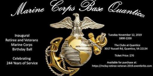 Veterans and Retirees 244th Marine Corps Birthday Ball