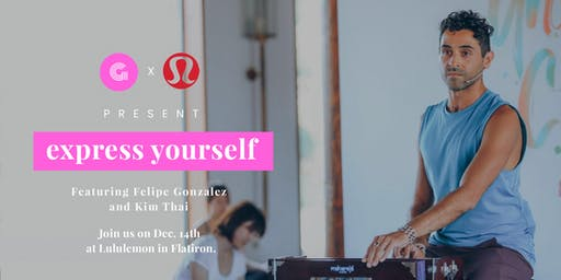 The #expressyourself workshop series