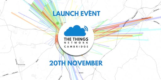 The Things Network Cambridge launch event