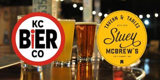 Stuey McBrew's & KC Bier Co's Beer Dinner