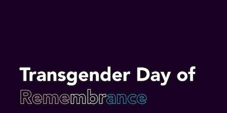 Transgender Day of Remembrance tickets