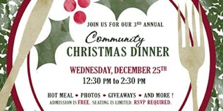 2019 Shiloh Community Christmas Dinner tickets