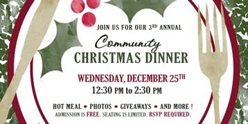 2019 Shiloh Community Christmas Dinner