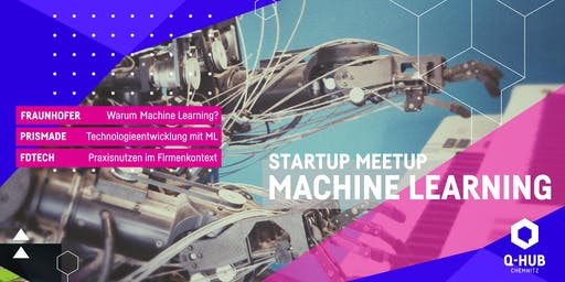 Startup Meetup: Machine Learning