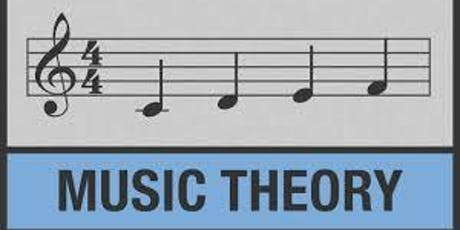 Music Theory Group ADULTS (8 Classes) with Eric Seidl tickets