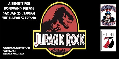14th Annual Jurassic Rock for Donovan's Disease tickets