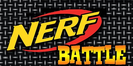 Children's Party: Nerf Battle for Grades K-6