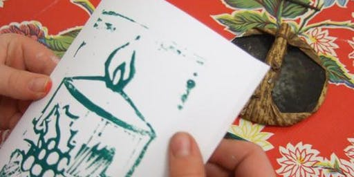 Special Christmas Craft Club - Card Printing. Suitable for ages 5 - 12 years