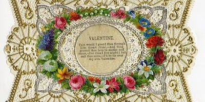 Victorian Pressed Flower Valentine Workshop