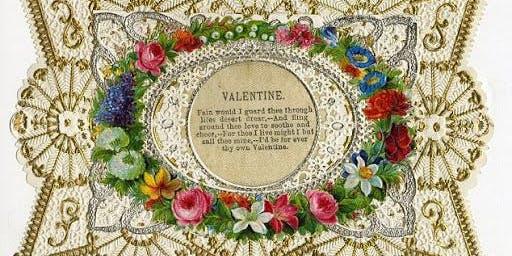 Victorian Pressed Flower Valentine Workshop