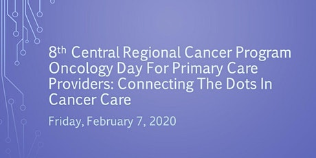 Oncology Day for Primary Care Providers tickets