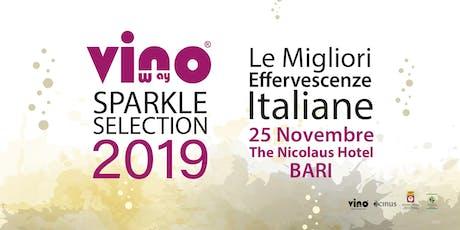 Vinoway Sparkle Selection 2019 biglietti