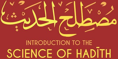 An Introduction to the Science of Hadith tickets