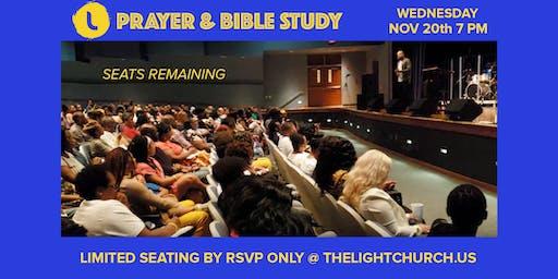 TLC PRAYER & BIBLE STUDY