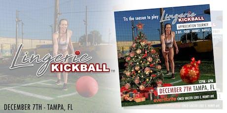 Tis the season to play - Lingerie Kickball tickets