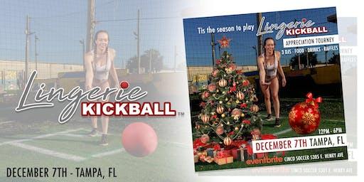 Tis the season to play - Lingerie Kickball