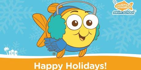 Lunch & Swim with Santa at Goldfish Okemos! tickets