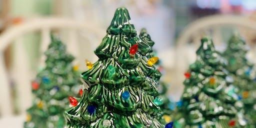 Vintage Christmas Tree Workshop
