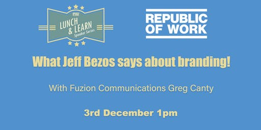 What Jeff Bezos says about branding!