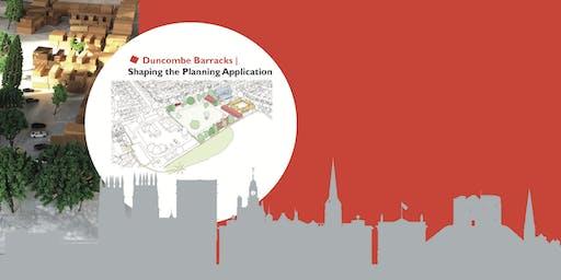 Design Workshop Duncombe Barracks Site