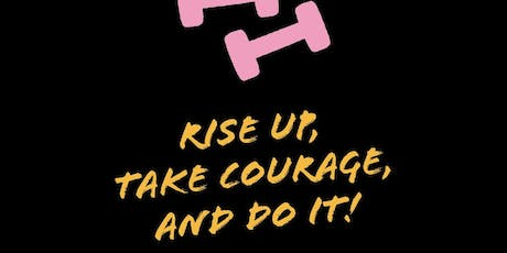 """RISE UP. TAKE COURAGE + DO IT!""LET'S PLAN 2020.PLANNER SUPPLIES PROVIDED! ingressos"