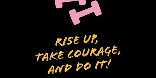 """RISE UP. TAKE COURAGE + DO IT!""LET'S PLAN 2020.PLANNER SUPPLIES PROVIDED!"