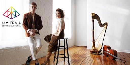 Harpe & Violoncelle - Duo Milot & Tétrault