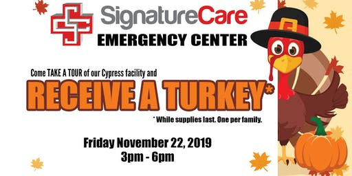 FREE Turkey Giveaway from SignatureCare ER