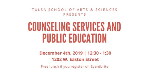 Lunch and Learn: Counseling Services and Public Education