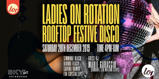 LOR's Festive Rooftop Disco
