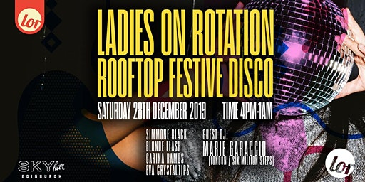 LOR's Festive Rooftop Disco