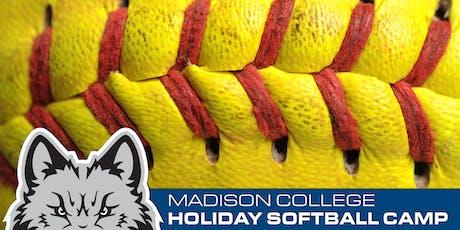 2019 Madison College Holiday Softball Camp tickets