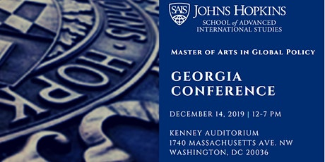 SAIS Master of Arts in Global Policy: Georgia Conference tickets