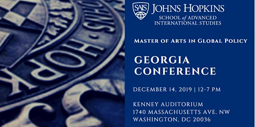 SAIS Master of Arts in Global Policy: Georgia Conference