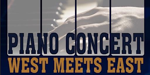 PIANO CONCERT - WEST MEETS EAST