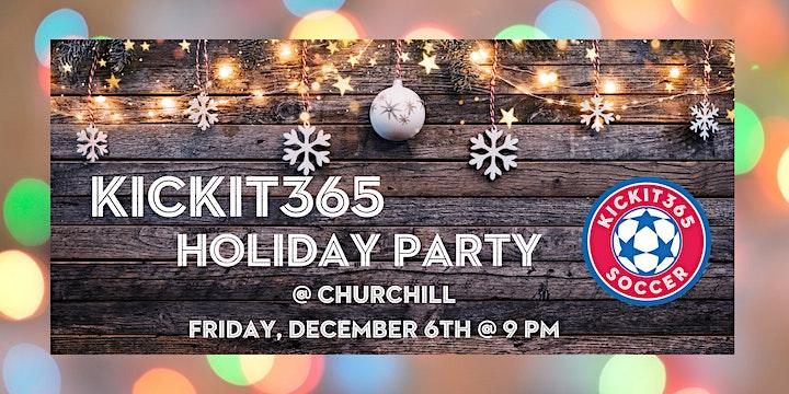 KICKIT365 Holiday Party image