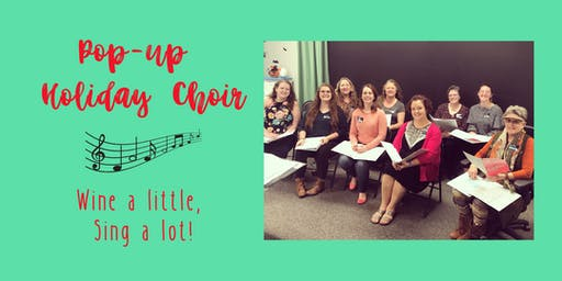 Sip n' Sing Pop-up choir