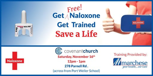 Learn How to Save a Life - Naloxone Training  at Covenant Church